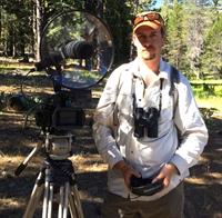 "Steven M. Bumgardner from the excellent Yosemite Nature Notes with his Telinga PRO-8 14"" dish camera setup. A YouTube (HD) feature of his work is available in our showroom/sounds section."
