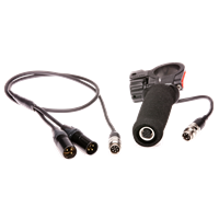 The Telinga PRO-8 MK2 handle with XLR-Cable included.